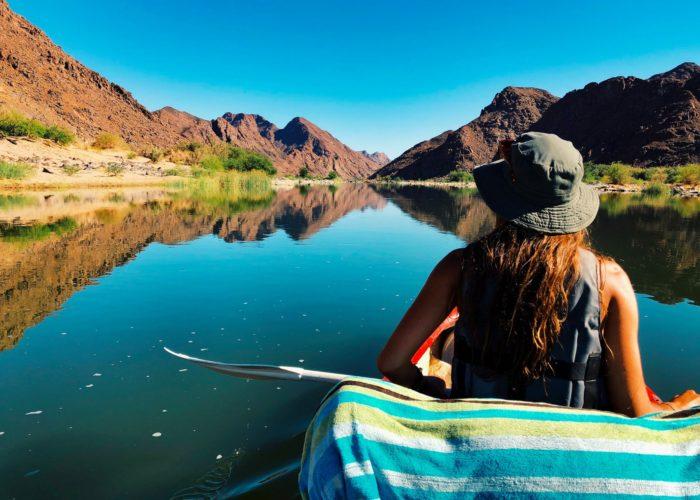 Orange River Canoe Trips, Orange River 4 Day Trips
