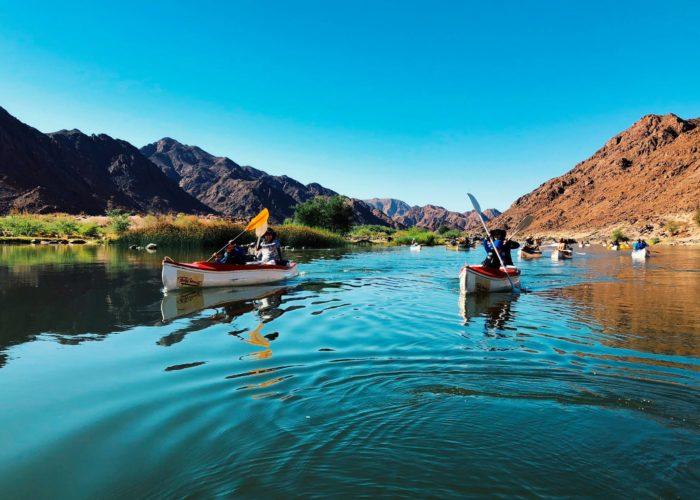 Orange River Canoe Trip