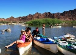 Student Trips Orange River, Orange River Canoeing, Felix Unite River Adventures