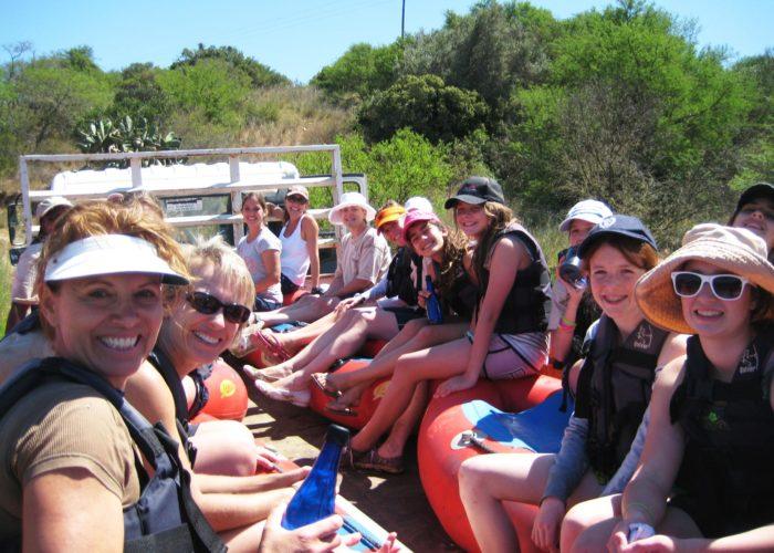 Breede River Rafting Easter Trips